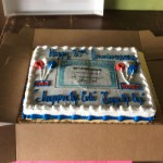 Social Security 80th Anniversary Cake