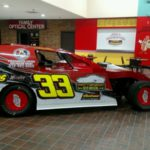 EMod race car driven by Josh Ferry, son of District 98 E-Board member Dave Ferry